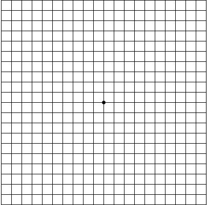 dot on grid